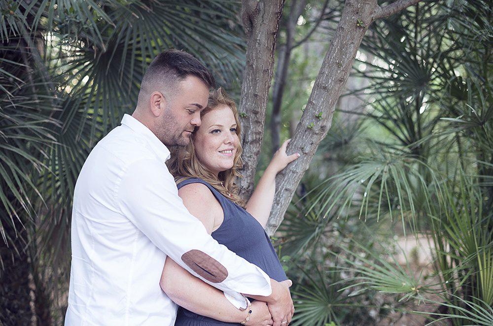 Sesión fotos embarazo Cartagena