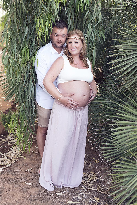 Sesión fotográfica embarazo Cartagena