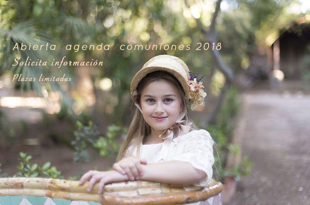 abierta agenda comuniones 2018 Cartagena amiairefotografia