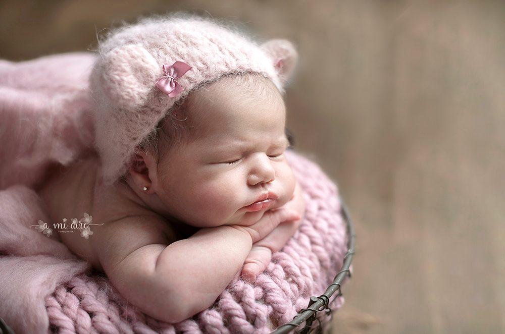 sesiones de fotos de recién nacidos en Cartagena Murcia